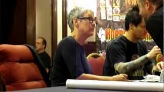 Halloween icon Jamie Lee Curtis signing last year at her first and only convention appearance!!