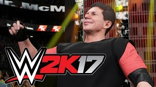 WWE 2K17 - Vince McMahon is BOSS!!! [Tag Team Tornado Match] - Playstation 4