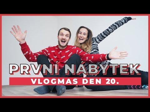VLOGMAS DEN 20. | Ikea a první nábytek?!