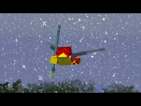 , title : 'Combining Elytra + Trident + Riptide III + Slow Falling Effect + Rain in Minecraft 1.13!'