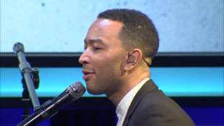"John Legend Performs ""Redemption Song"" & ""All of Me"" at Public Counsel's 2016 Dinner"