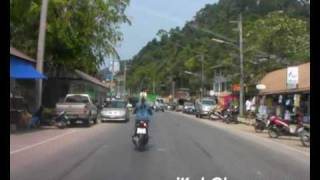 preview picture of video 'Road (White Sand Beach), Koh Chang, Trat, Thailand'