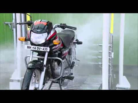 Automatic Bike Wash System