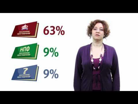ФОМ: Накопительная часть пенсии. Как поступить?