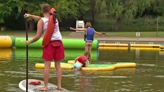 Floating Playground Opens In Santa Rosa