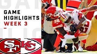 49ers vs. Chiefs Week 3 Highlights | NFL 2018