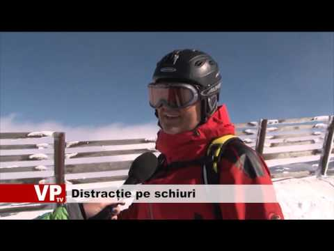 Distracție pe schiuri