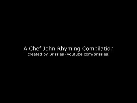 Chef John Rhyming & Stealing – A Compilation