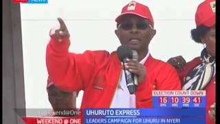 Jubilee leaders under the Uhuruto express umbrella fault NASA's leadership skills