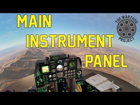 A10C engine instruments for DCS simulator - смотреть онлайн