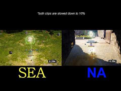 Australian ping on the SEA server :: Black Desert Online General