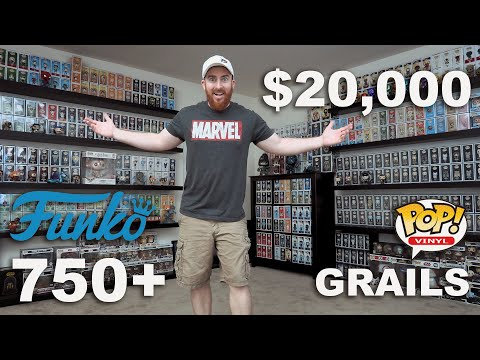 EPIC $20,000 FUNKO POP COLLECTION - 750+ FUNKO POPS