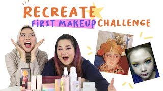 Gambar cover Momen Makeup-an Pertama Kali Andien & Ochell | Recreate First Makeup Challenge