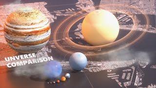 Universe Size Comparison 2018