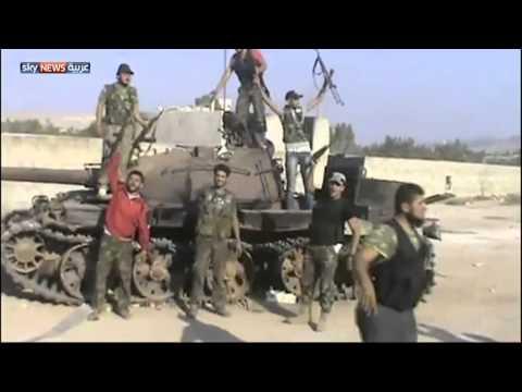 الجيش الحر يعترض رتلاً عسكرياً بحلب