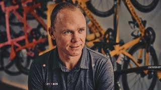 video: Chris Froome pictured in his hospital bed after crash as he says, 'I am fully focused on returning back to my best'