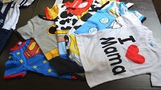HAUL Детская одежда с Aliexpress. Летние покупки