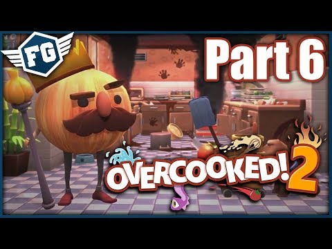 BURGERY A PIZZY - Overcooked 2 #6 - Feat. Agraelus