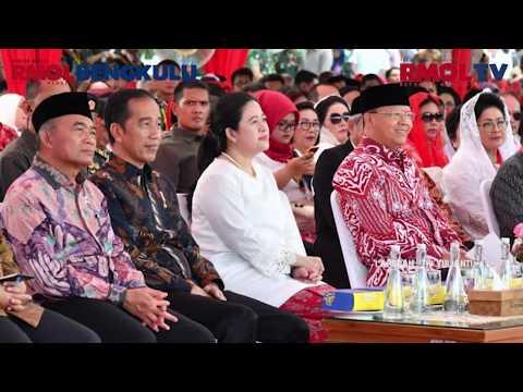 Rangkaian Kunjungan Kerja Presiden RI Ke Provinsi Bengkulu Dalam Rangka Peresmian Monumen Fatmawati