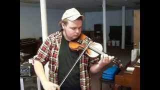 Ben Playing Old Fiddle for Sale!!! Number One