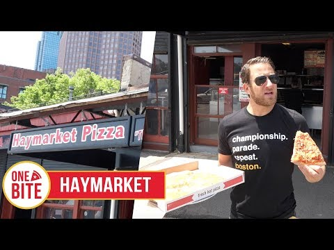 Barstool Pizza Review - Haymarket Pizza (Boston)