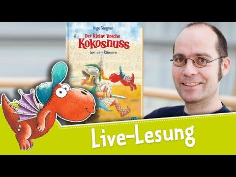 Live-Lesung: Ingo Siegner liest aus »Der kleine Drache Kokosnuss bei den Römern«