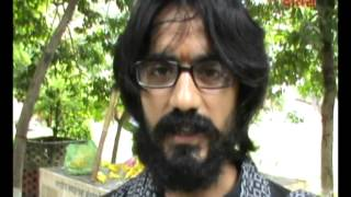 Cartoonist Aseem Trivedi Visits Badarka, Unnao.avi