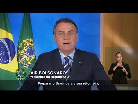 Pronunciamento do Presidente da República, Jair Bolsonaro em Rede Nacional de Rádio e Televisão