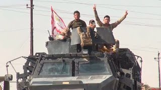 Dramatic moment Iraqi forces enter Kurdish Kirkuk (EXCLUSIVE)