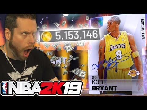 I bought 5 Million VC for Kobe Bryant! NBA 2K19