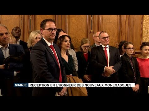 Monaco Town Hall: reception to honour new Monegasques