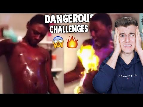 Most Dangerous Youtube Challenges! (Don't Try These)