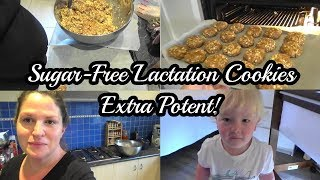 Sugar-Free Lactation Cookies | EXTRA Potent