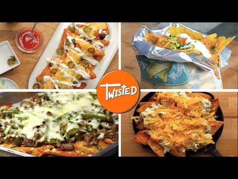 12 Ultimate Nachos Recipes  | 12 Cheesy Nachos | Twisted