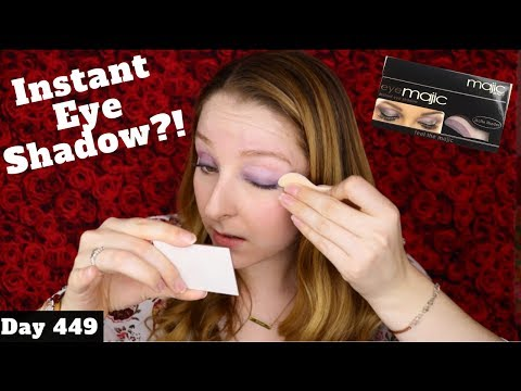 Eye Majic Instant Eyeshadow Review | Dollar Tree Makeup | Day 449 of Trying New Makeup