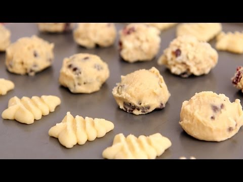 How to Freeze & Bake Homemade Cookie Dough – Laura Vitale – Laura in the Kitchen