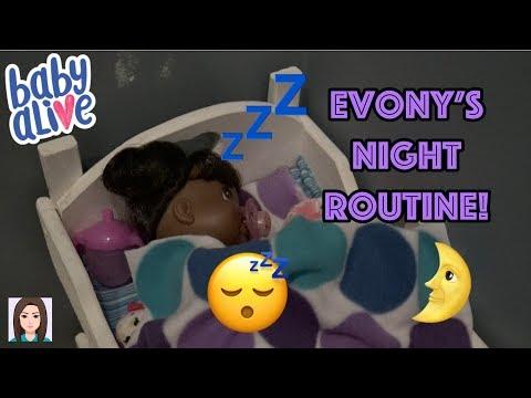 Baby Alive Evony's Night Routine