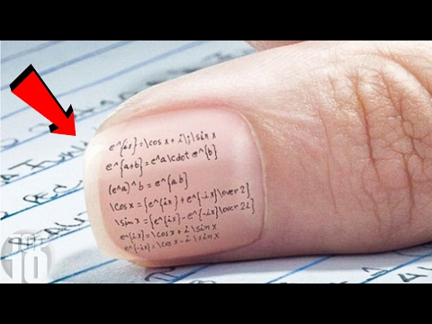 10 Clever Ways Kids CHEAT On School Tests
