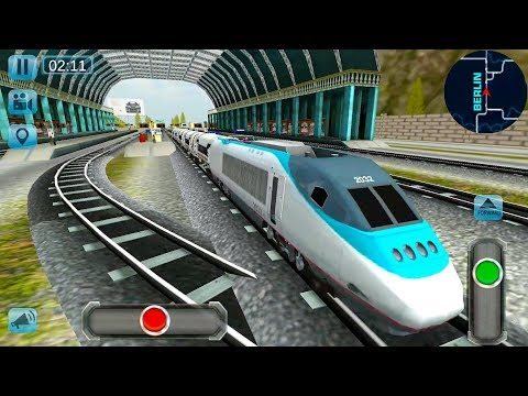 Euro Train Simulator 3D - Real Train Driver All Trains Unlocked - Android Gameplay FHD