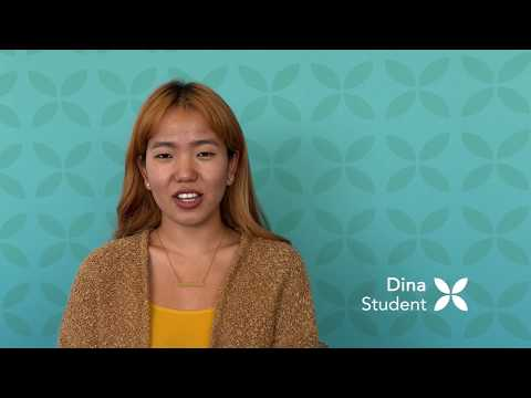 International Student gets Covered: Dina