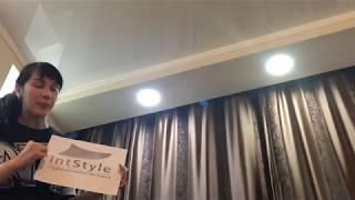 Отзыв о монтаже натяжных потолках в квартире в Люблино от ИнтСтайл