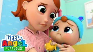 Mamãe, Estou Dodói! 🤒 | Canal do Joãozinho - Little Angel Português