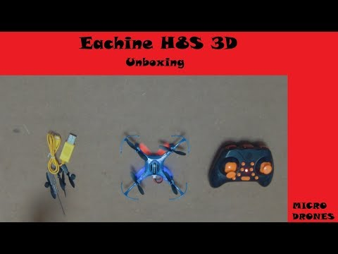 Eachine H8S 3D Unboxing e Review.