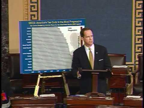 Sen. Toomey speaks on Senate floor about the Buffett rule