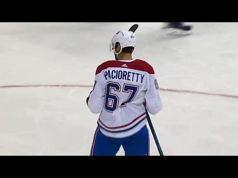 Pacioretty roofs shot over Grubauer, Canadiens lead Capitals