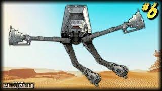 Star Wars Battlefront 2 - Funny Moments #6 (AT-AT Random Moments!)