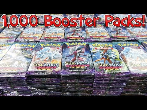 Opening 1,000 More Pokemon Booster Packs - Guardians Rising