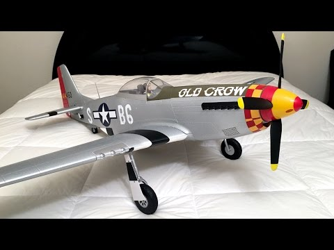 Unboxing and Review – Eleven Hobby P-51 Mustang WWII Warbird RC Plane From Banggood.com
