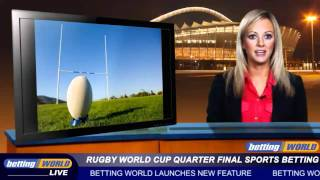 Rugby World Cup Quarter Final Sports Betting