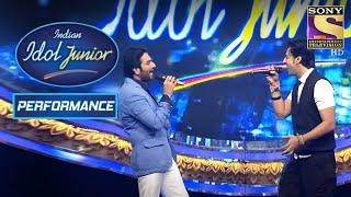 Shekhar and Salim's Marvelous Performance On 'Ishq Wala Love'  | Indian Idol Junior